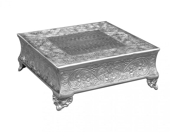 indian-embossed-square-cake-stand