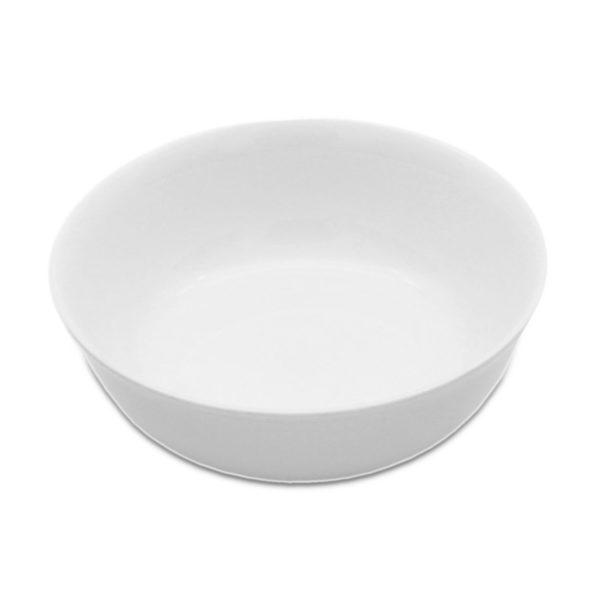 white porcelain coupe dessert bowl for hire