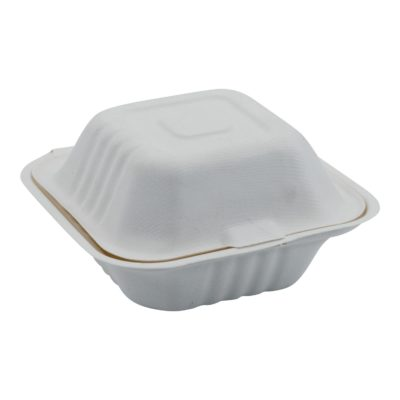 eco friendly bagasse burger takeaway box EHIRE
