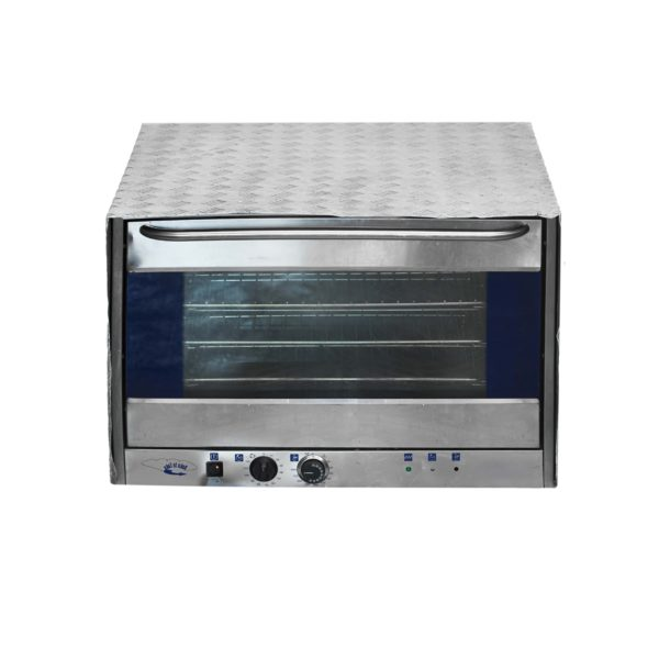 industrial electric 4-pan oven