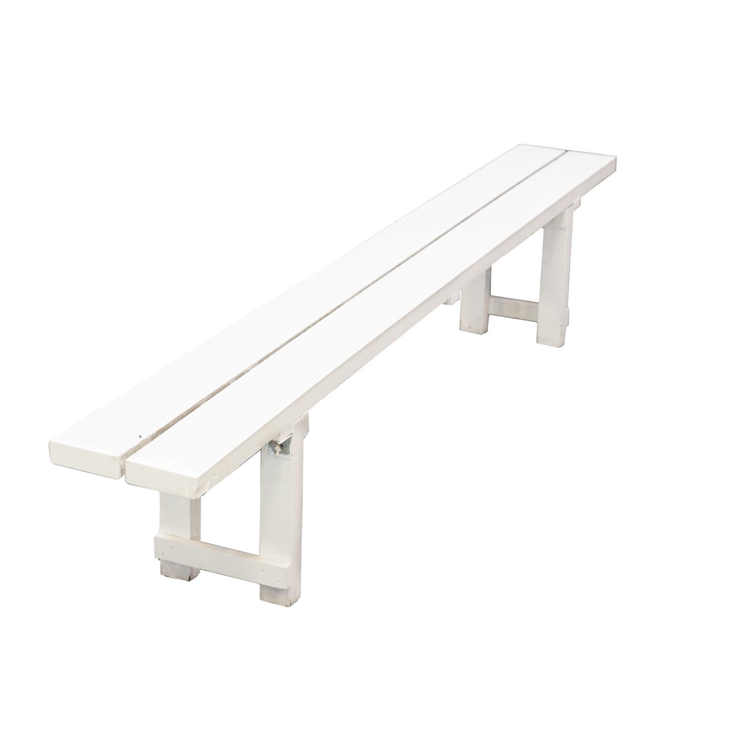 Wondrous White Wooden Bench For Hire Pdpeps Interior Chair Design Pdpepsorg