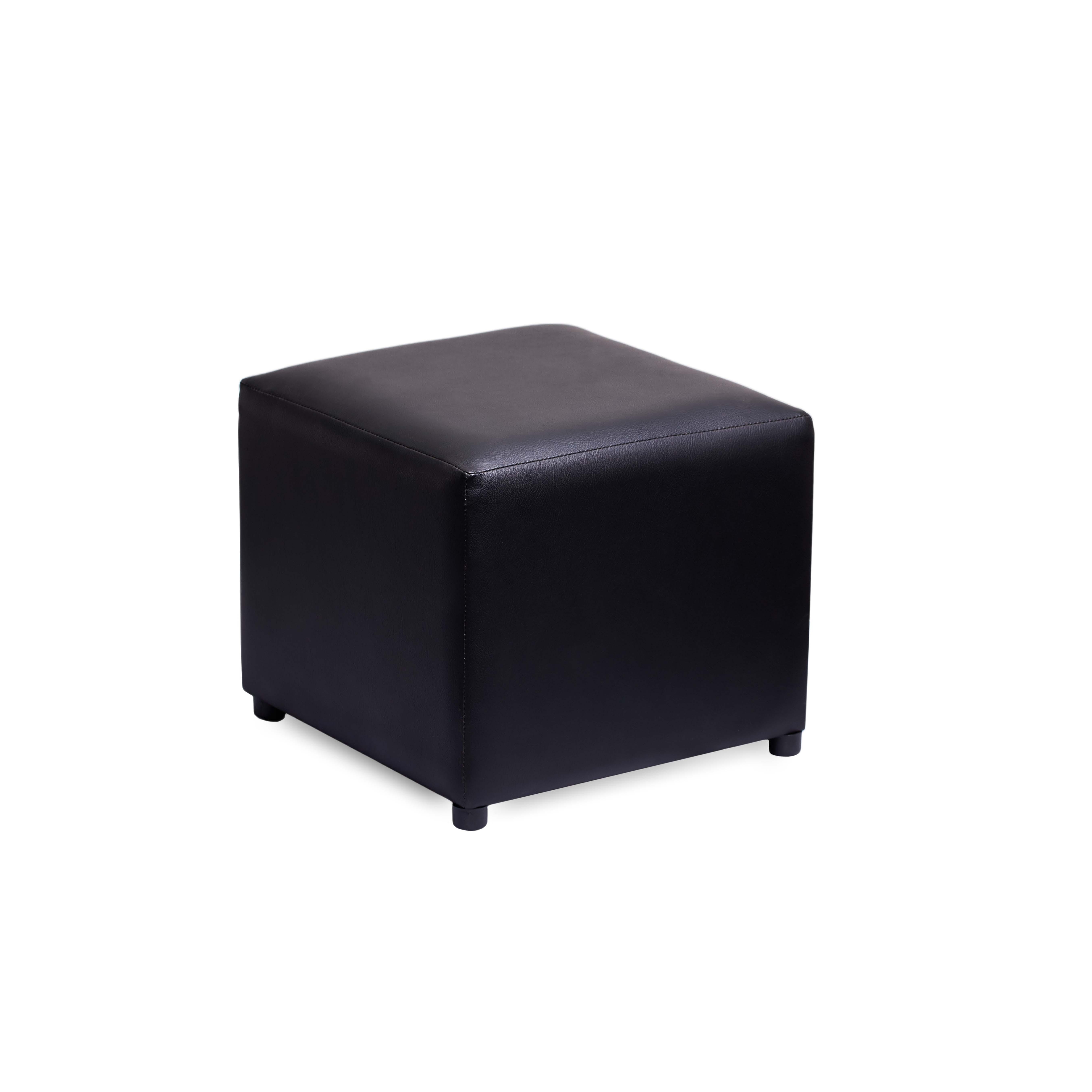 Stupendous Black Ottoman Short Links Chair Design For Home Short Linksinfo