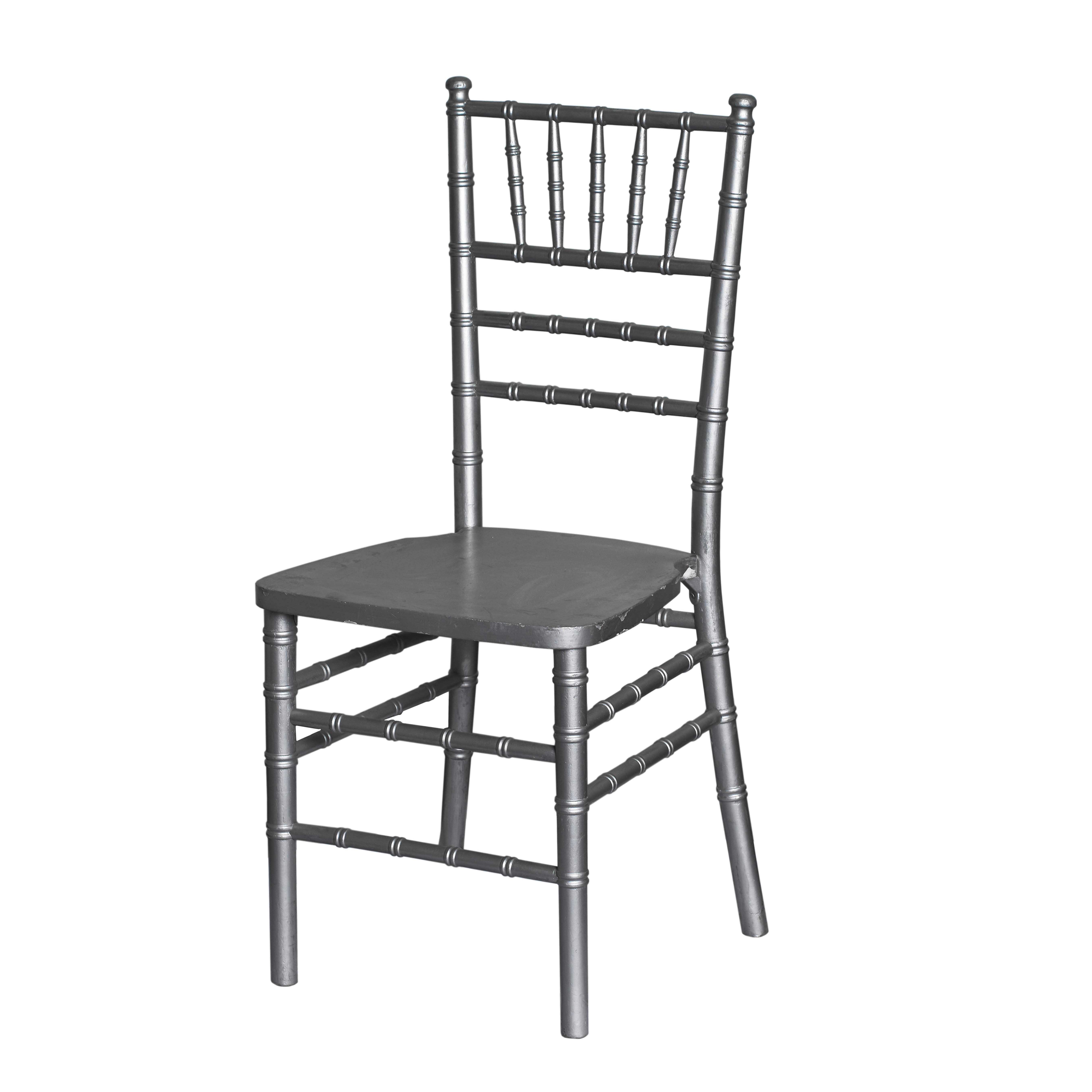 Silver Tiffany Chair - For Hire