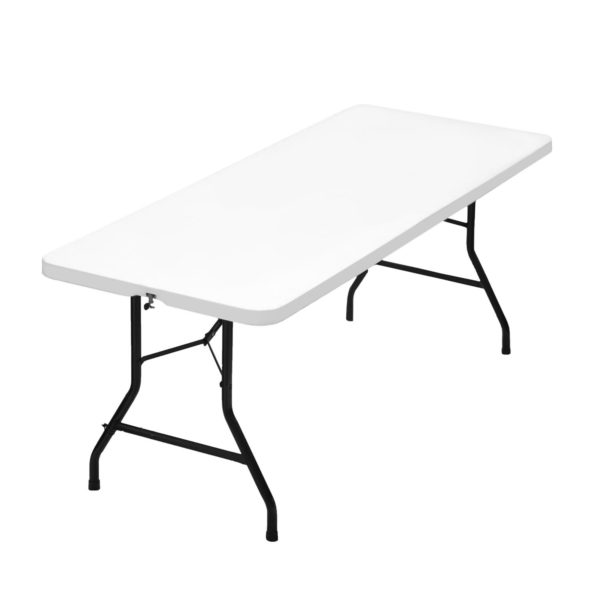 furniture tables plastic table fold-up rectangle white EHIRE