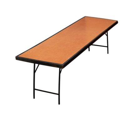 Rectangular Trestle Table 8 to 10 Seater For Hire EHIRE