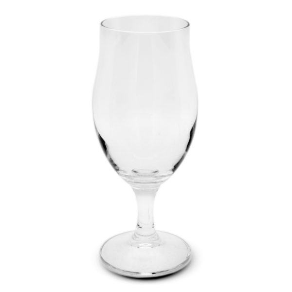 tulip shaped Cervoise Beer glass 400 ml for hire