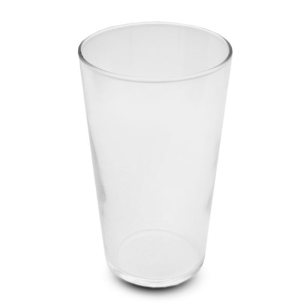 """Conique """"Pint"""" Beer Glass 550 ml for hire"""
