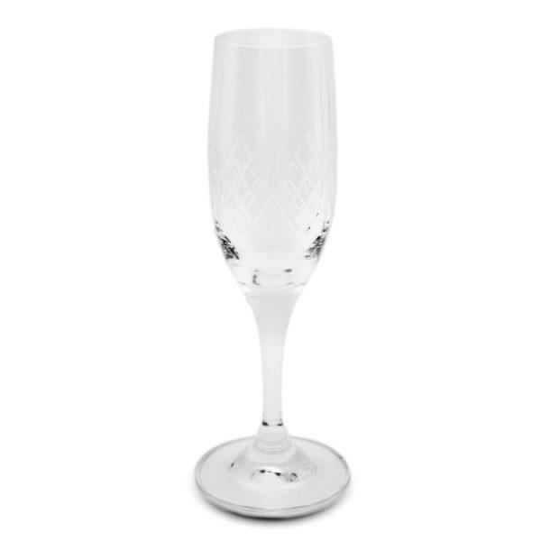 Mondial Cut Champagne Glass 200 ml