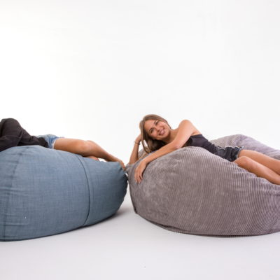 Large Happy Sak Bean Bag For Hire EHIRE