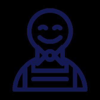 fast friendly service icon ehire