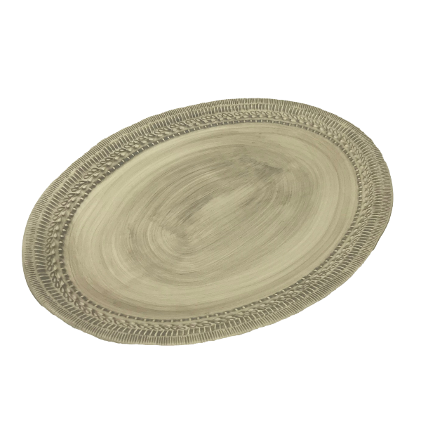 Natural Stone Oval Platter