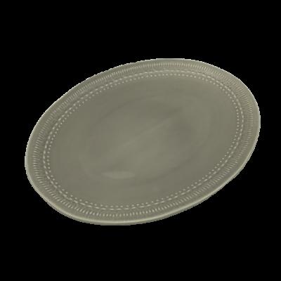 Grey Stone Oval Platter