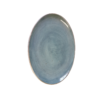Blue Oval Platter