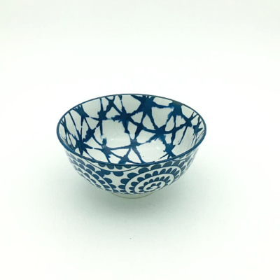 Blue Twirl Thai Bowl