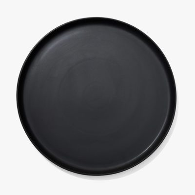 Country Road large round tapas platter matte black