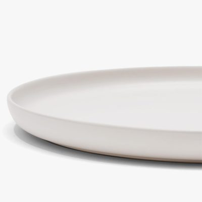 Country Road large round tapas platter snow white