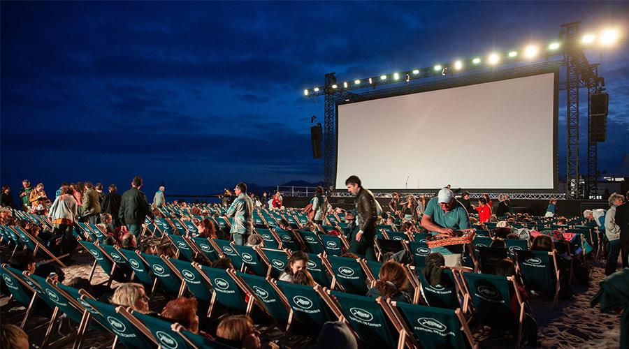 outdoor cinema event