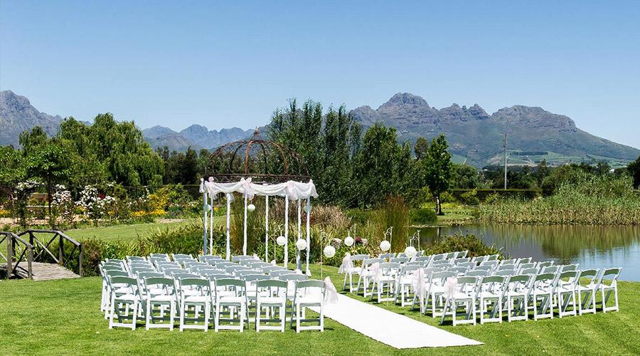 hudsons wedding venue stellenbosch
