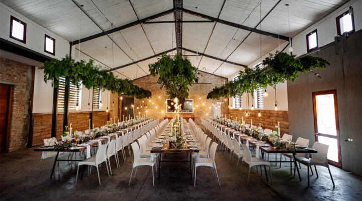rustic indoor wedding venue Cape Town