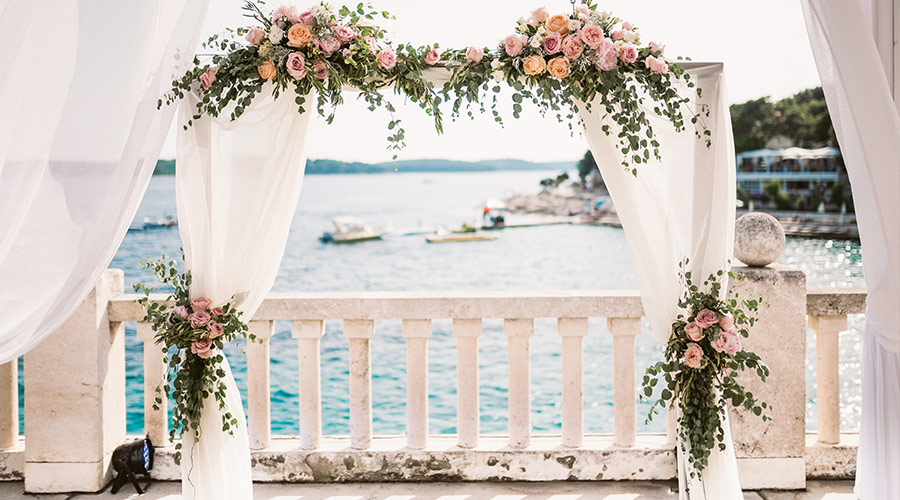 wedding venue by the coast