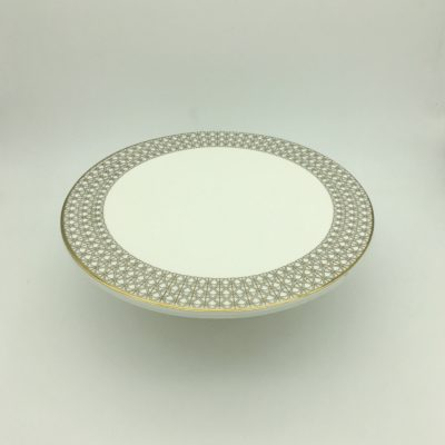 decor-tableware-cake-stand-1-tier-gold-and-white-for-hire-2