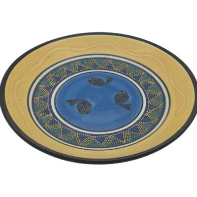 african-pattern-round-platter-50cm