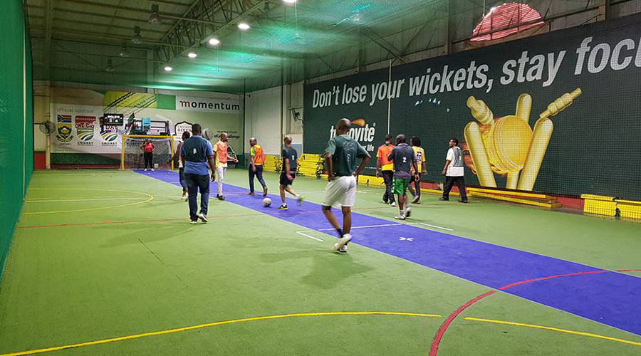action sports indoor soccer pitch
