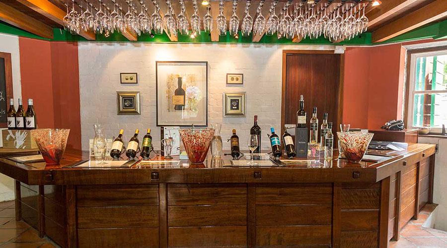 klein constantia wine bar