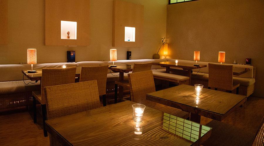 kyoto garden Japanese restaurant interior