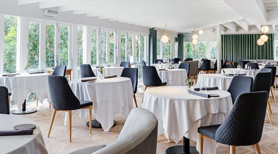 la colombe fine dining restaurant interiors
