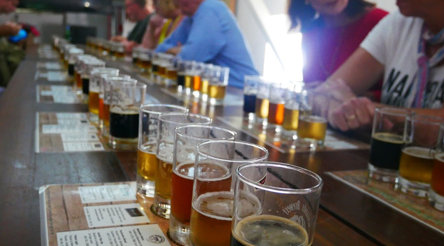 newlands brewery tour and beer tasting