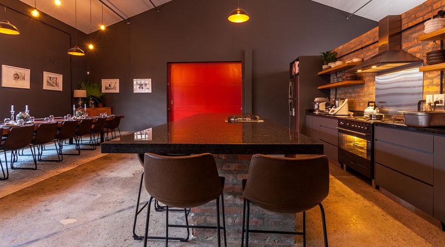 table seven restaurant interior