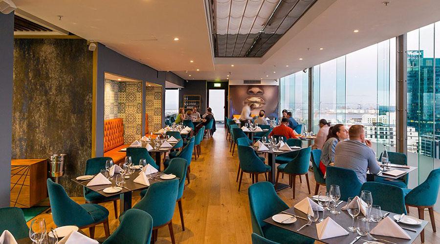 utopia rooftop fine dining restaurant