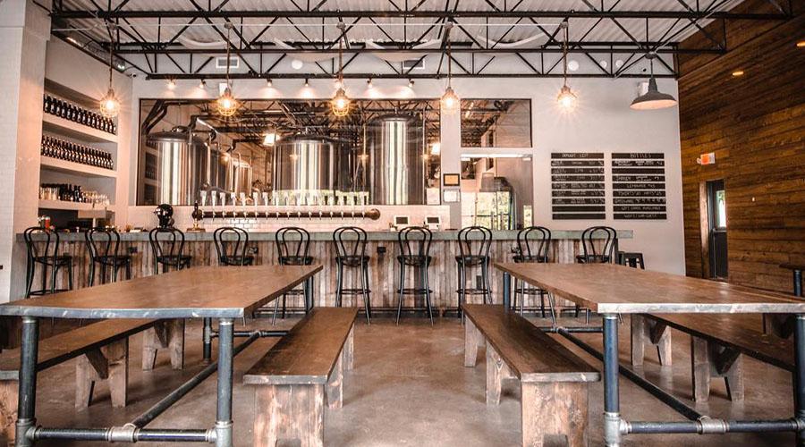 woodstock brewing company interior
