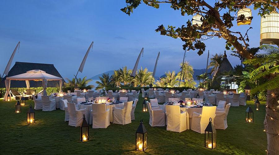 caribbean outdoor event lighting