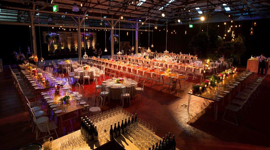 large corporate dinner