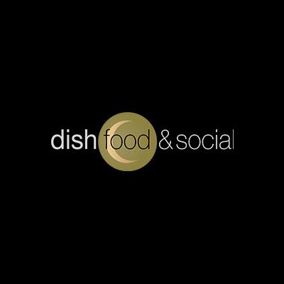 dishfood & social logo
