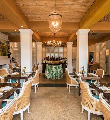 eat restaurant inside hout bay manor