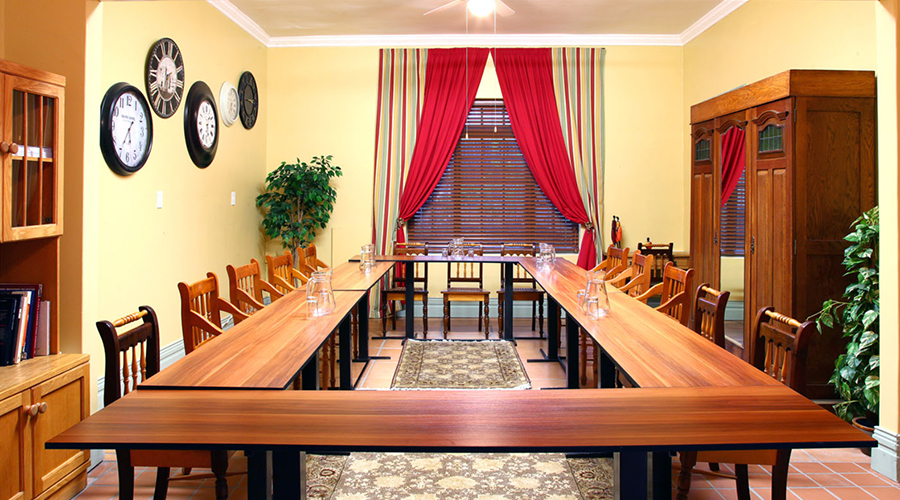mountain manor conference room set up